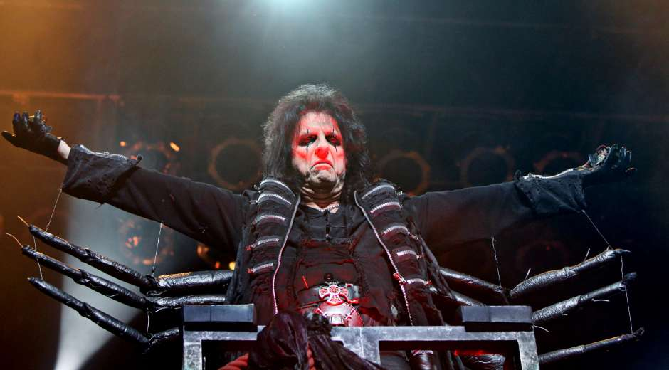 "January 22, 2012 - Atlanta, GA - Alice Cooper made a stop on his """"No More Mister Nice Guy ..."