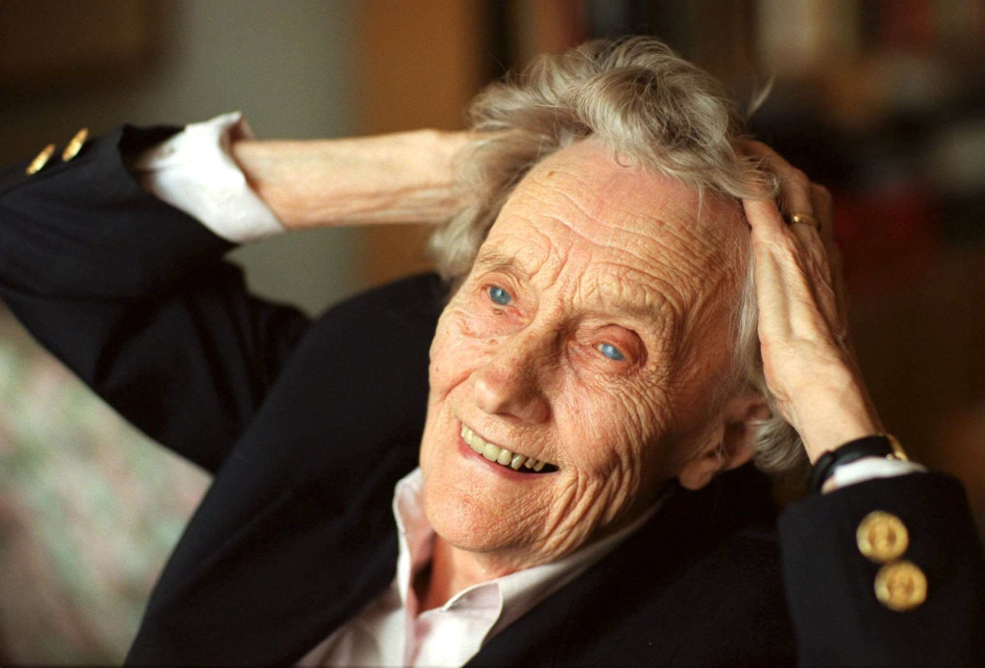 FFM07 - 20021211 - STOCKHOLM, SWEDEN : One of the world ´s famous literature figures died in her sleep on 28 January 2002 in Stockholm. The Swedish childrens book writer Astrid Lindgren was 94 years old. EPA PHOTO PRESSENS BILD / TOBIAS ROSTLUND / mr