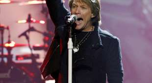 "Jon Bon Jovi performs a medley of ""What Do You Got?"", ""You Give Love a Bad ..."