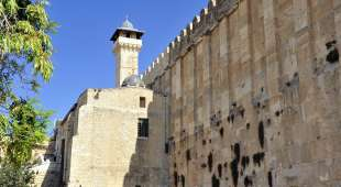 Cave of the Patriarchs in Hebron,